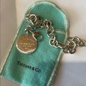 Authentic Return to Tiffany's charm bracelet